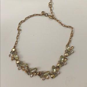 JCrew faux jewel accent necklace